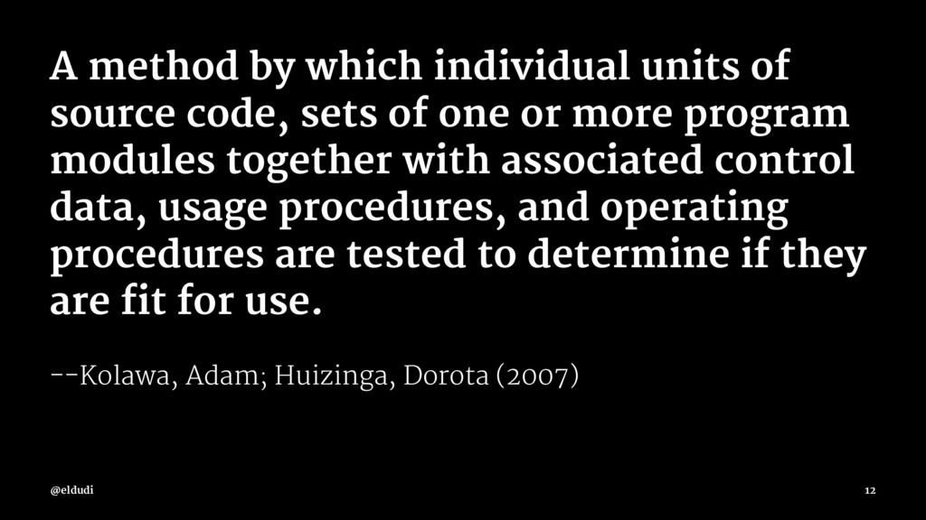 A method by which individual units of source co...