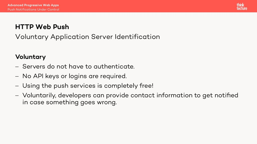 Voluntary Application Server Identification Vol...