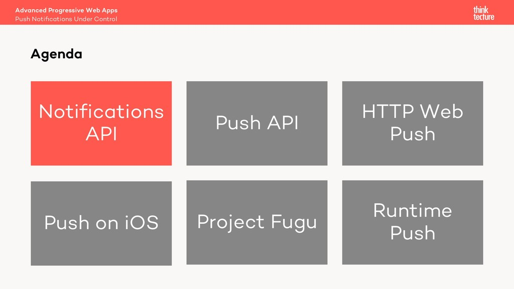 Notifications API Push API HTTP Web Push Push o...