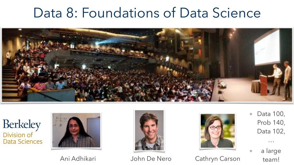 Data 8: Foundations of Data Science Cathryn Car...