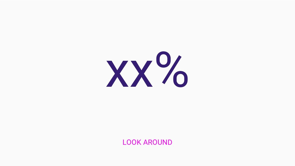xx% LOOK AROUND