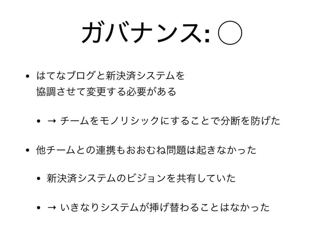Ψόφϯε: ̋ • ͯͳϒϩάͱ৽ܾࡁγεςϜΛ ڠௐͤͯ͞มߋ͢Δඞཁ͕͋Δ  • →...