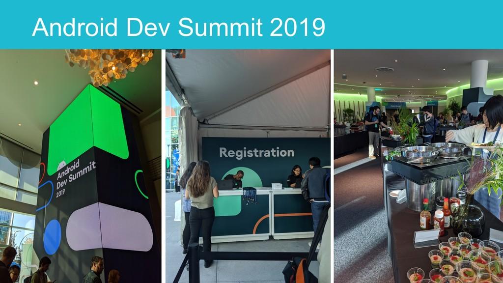 Android Dev Summit 2019 8