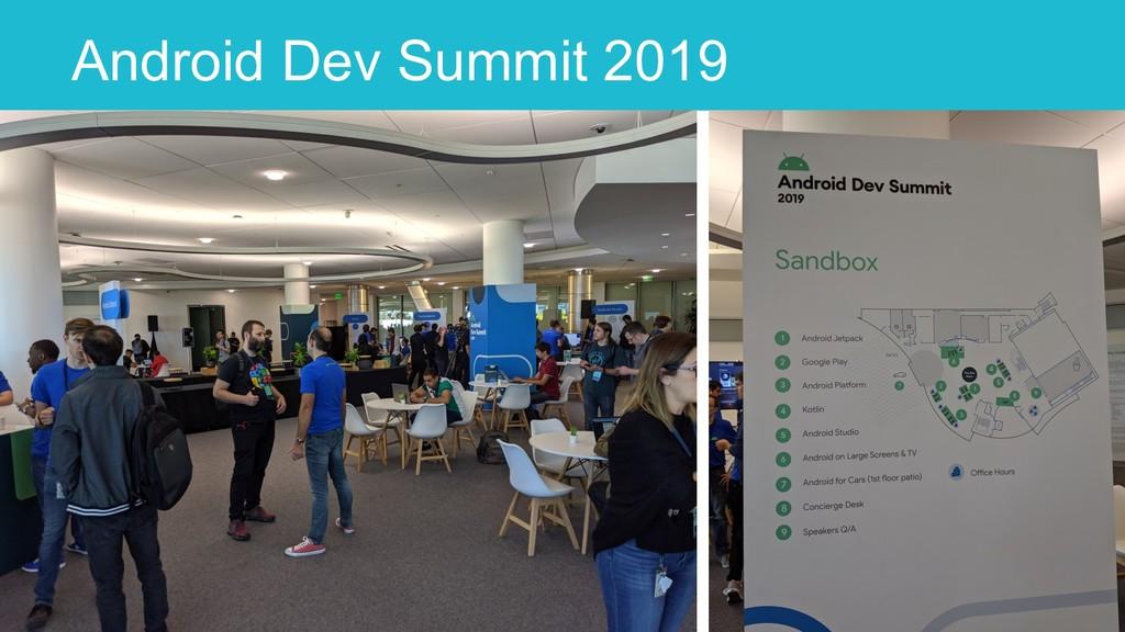 Android Dev Summit 2019 10