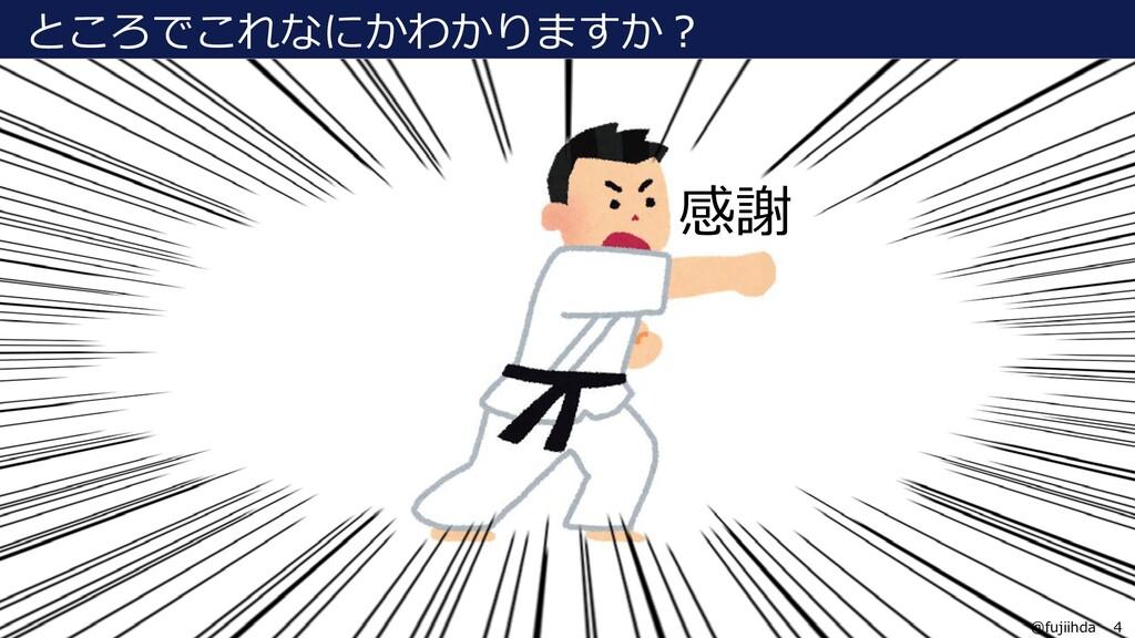 4 4 @fujiihda ところでこれなにかわかりますか? 感謝