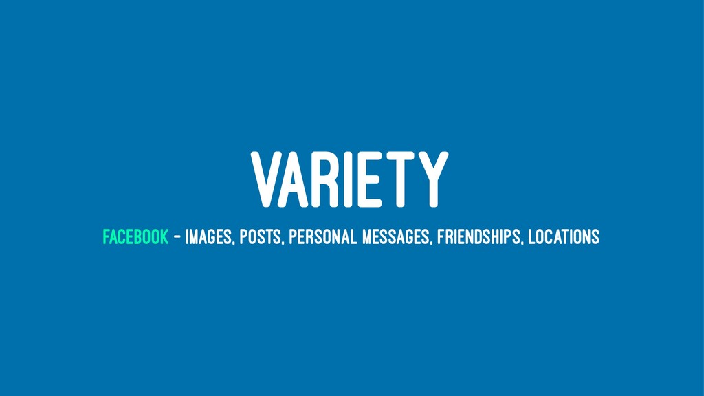 VARIETY FACEBOOK - IMAGES, POSTS, PERSONAL MESS...