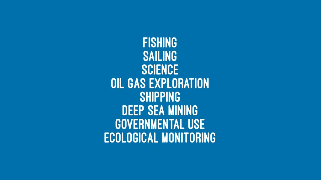 fishing sailing science oil gas exploration shi...