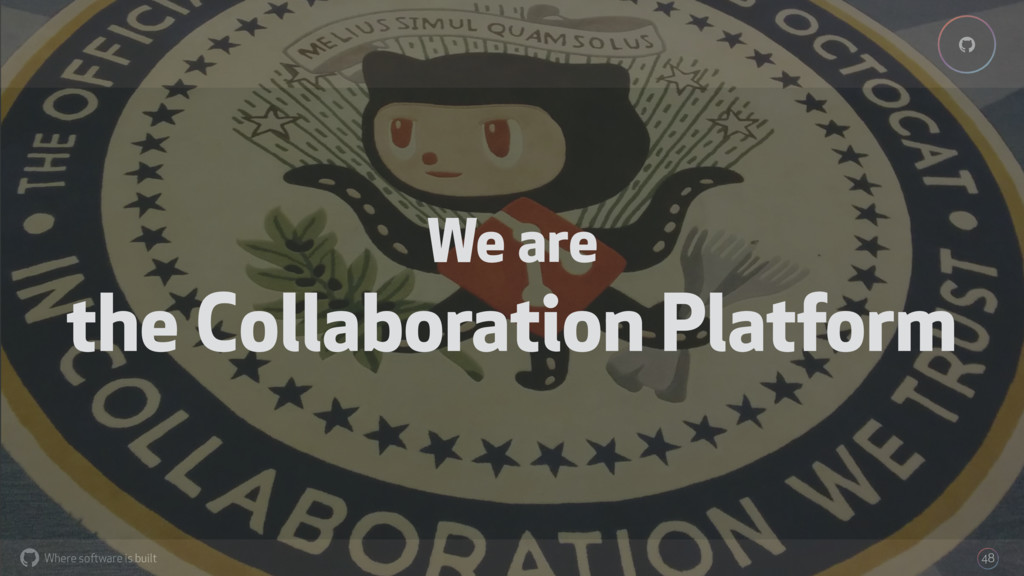 Where software is built % % 48 We are the Colla...