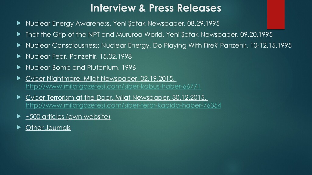 Interview & Press Releases  Nuclear Energy Awa...