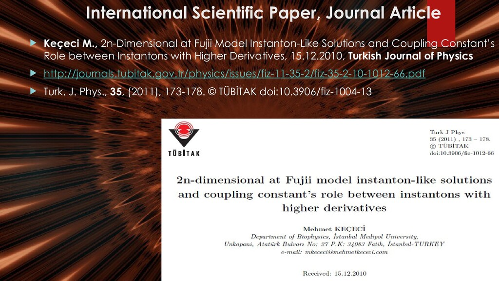 International Scientific Paper, Journal Article...