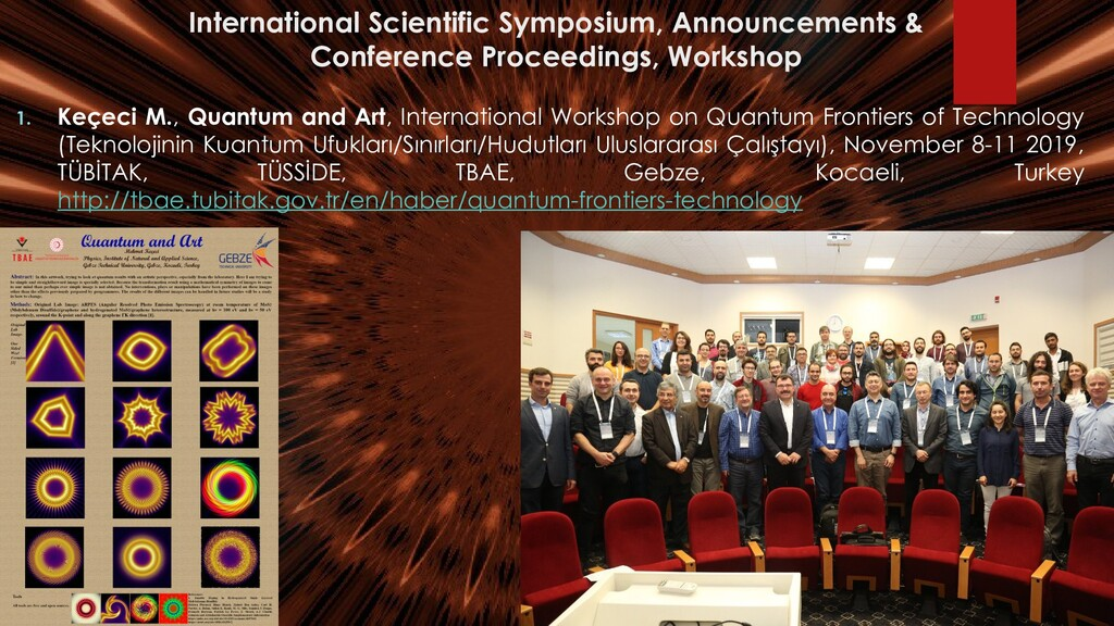 International Scientific Symposium, Announcemen...