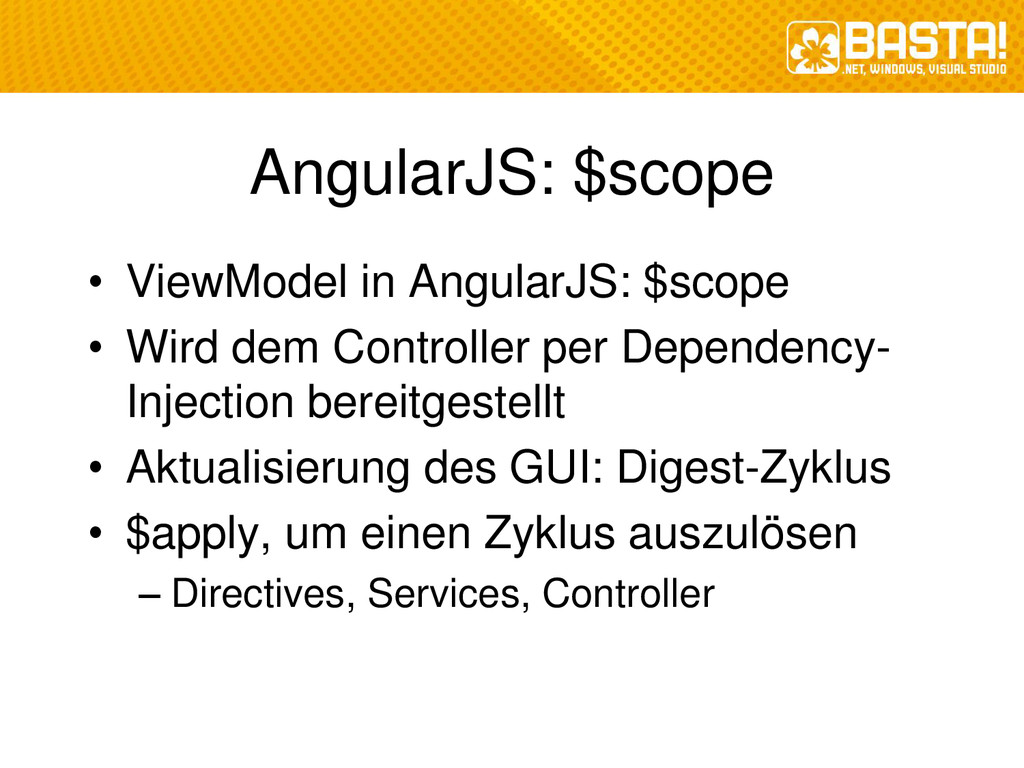 AngularJS: $scope • ViewModel in AngularJS: $sc...