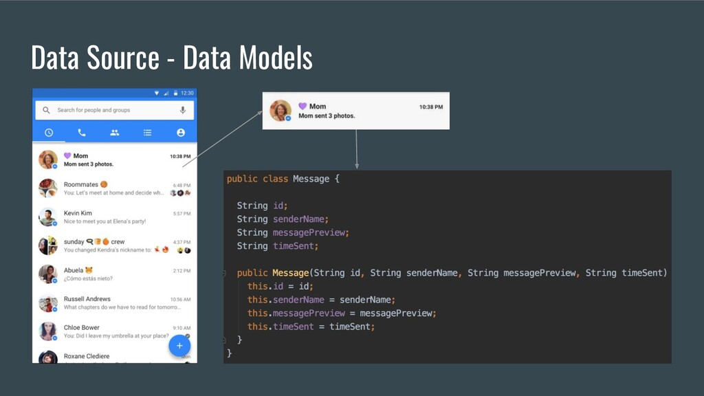 Data Source - Data Models