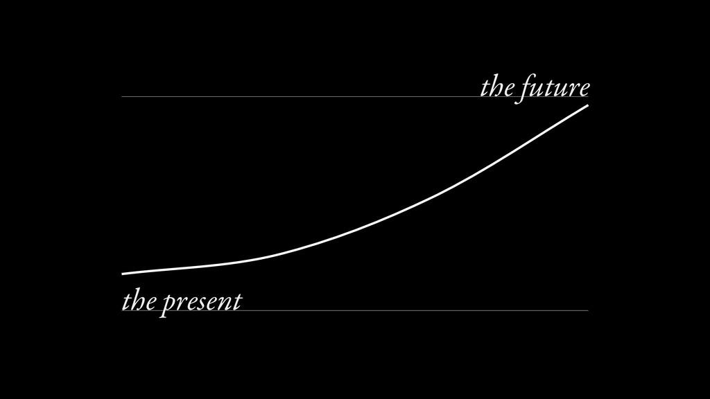 0 100 the future the present