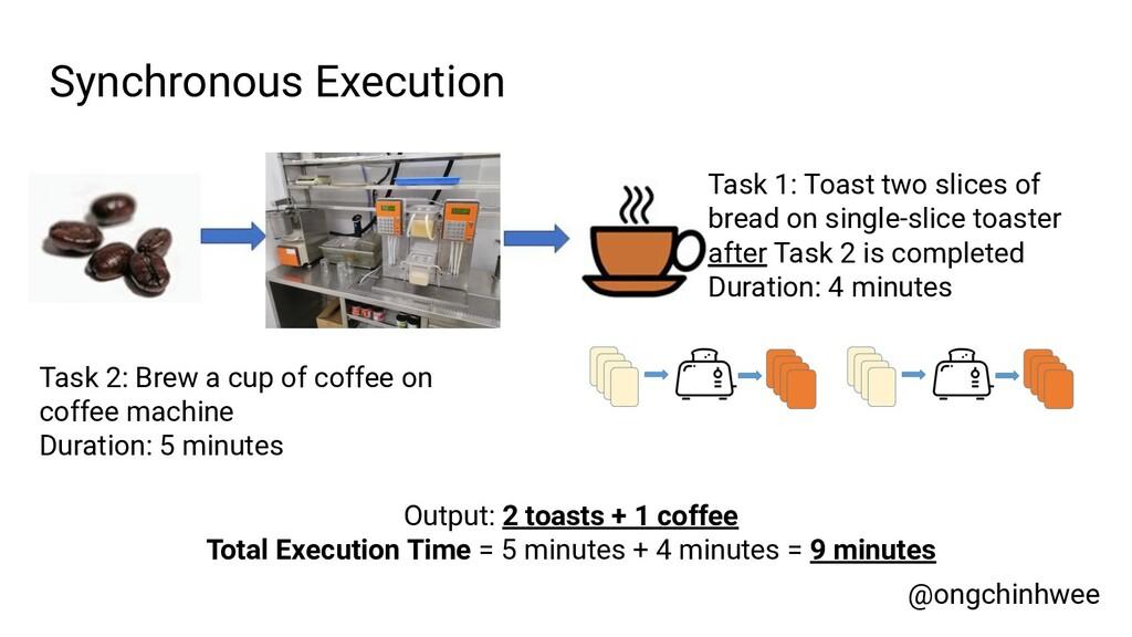@ongchinhwee Synchronous Execution Task 2: Brew...