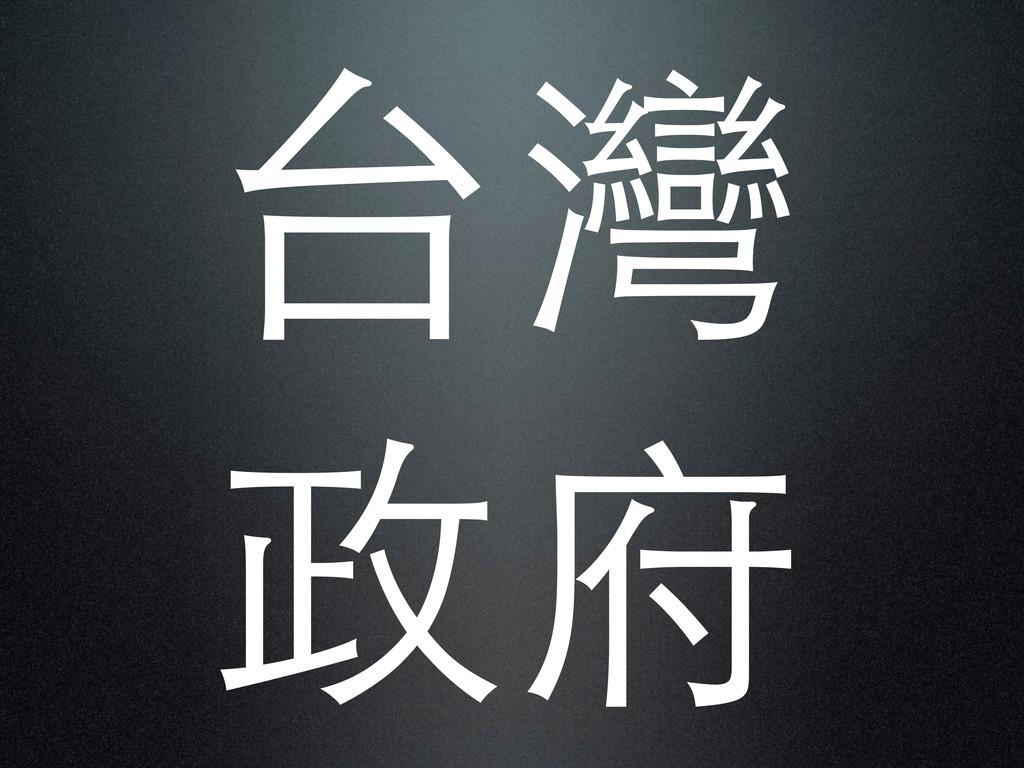 台灣 政府