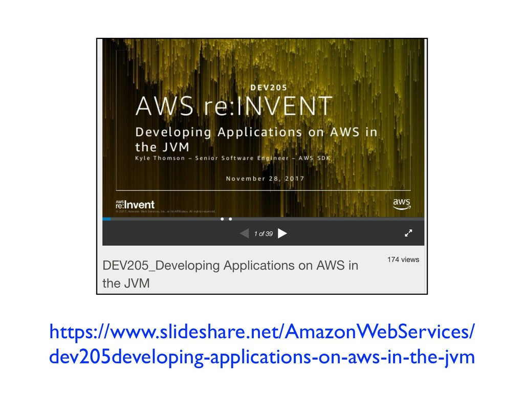 https://www.slideshare.net/AmazonWebServices/ d...