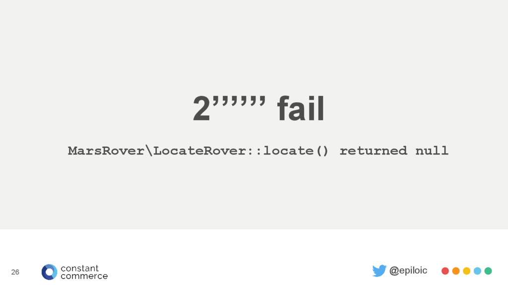 2'''''' fail MarsRover\LocateRover::locate() re...
