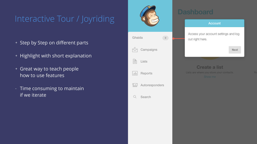 Interactive Tour / Joyriding + Step by Step on ...