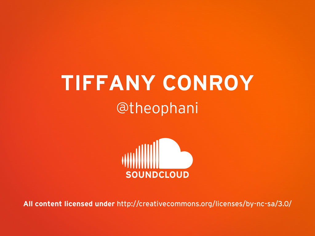 @theophani TIFFANY CONROY All content licensed ...