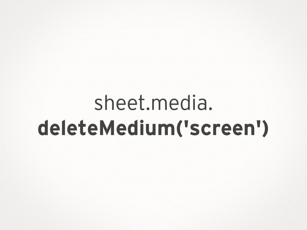 document.styleSheets which is defined as an exte...