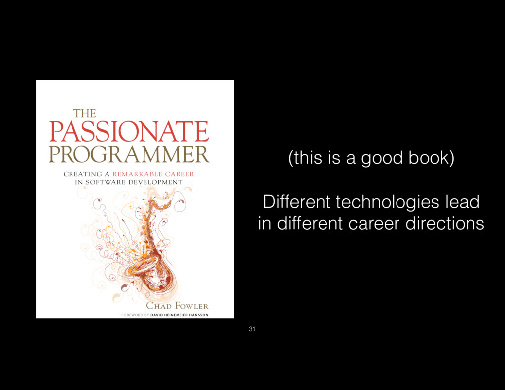 (this is a good book) Different technologies le...
