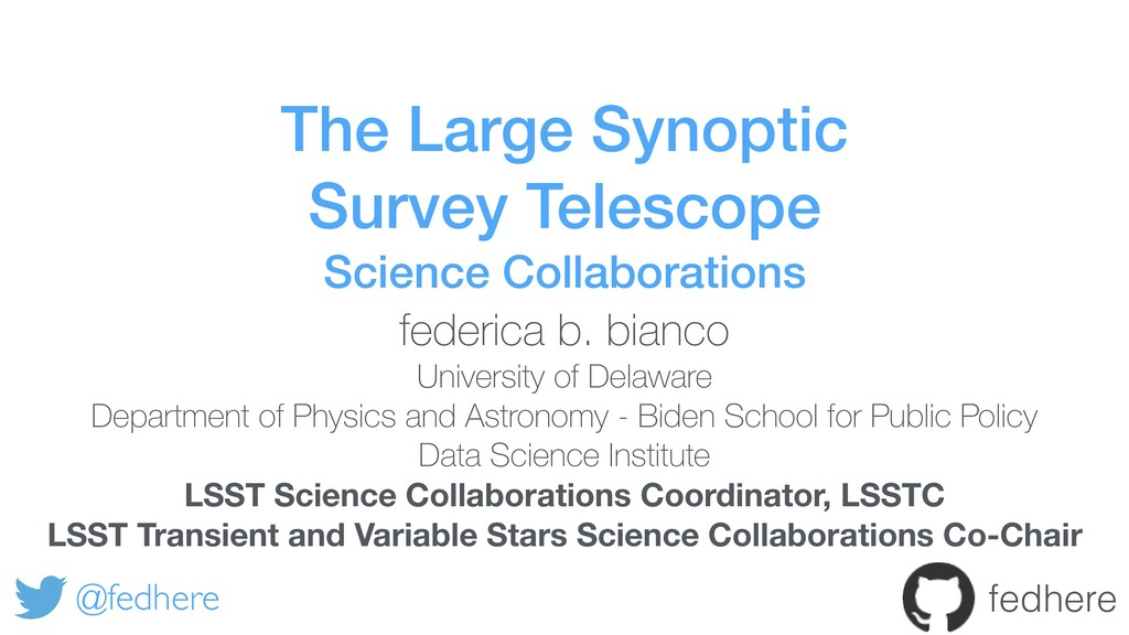 The Large Synoptic Survey Telescope Science Col...
