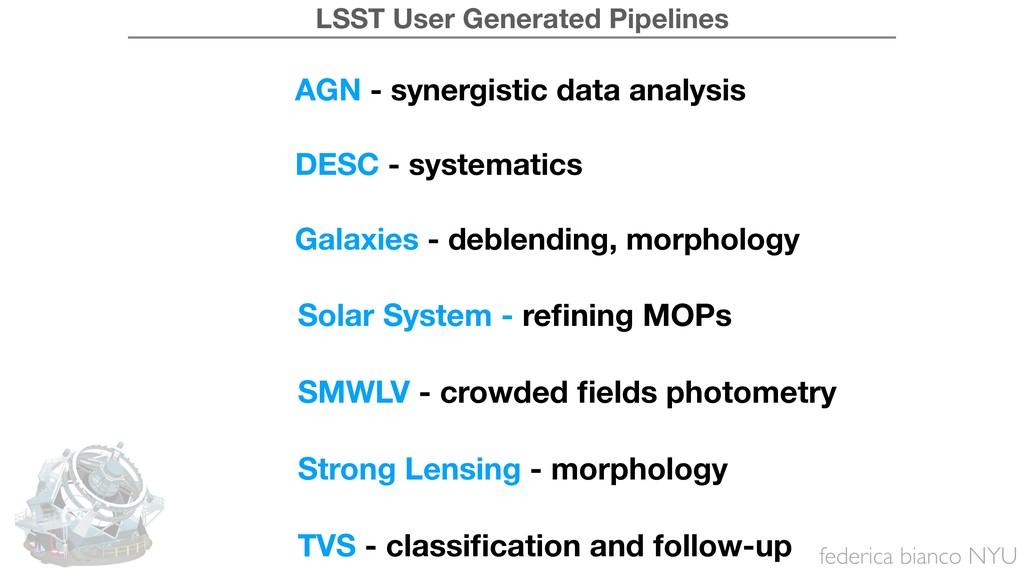federica bianco NYU AGN - synergistic data anal...