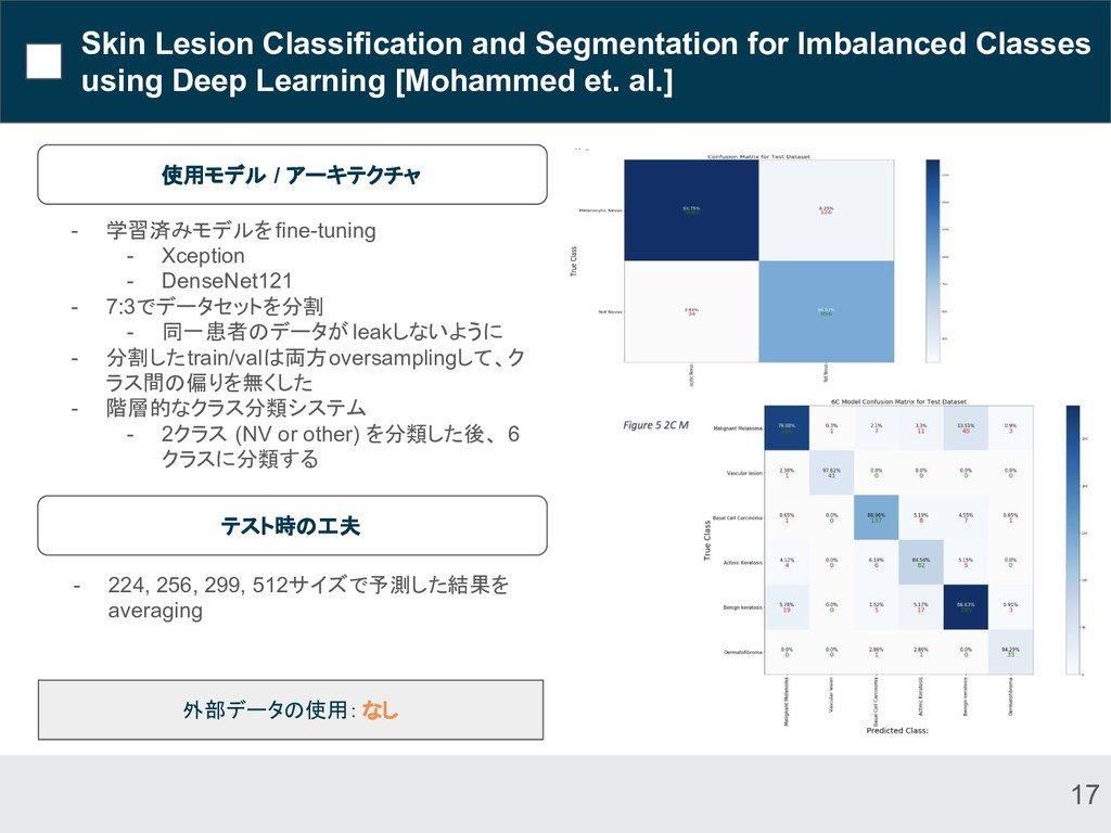 Skin Lesion Classification and Segmentation for...