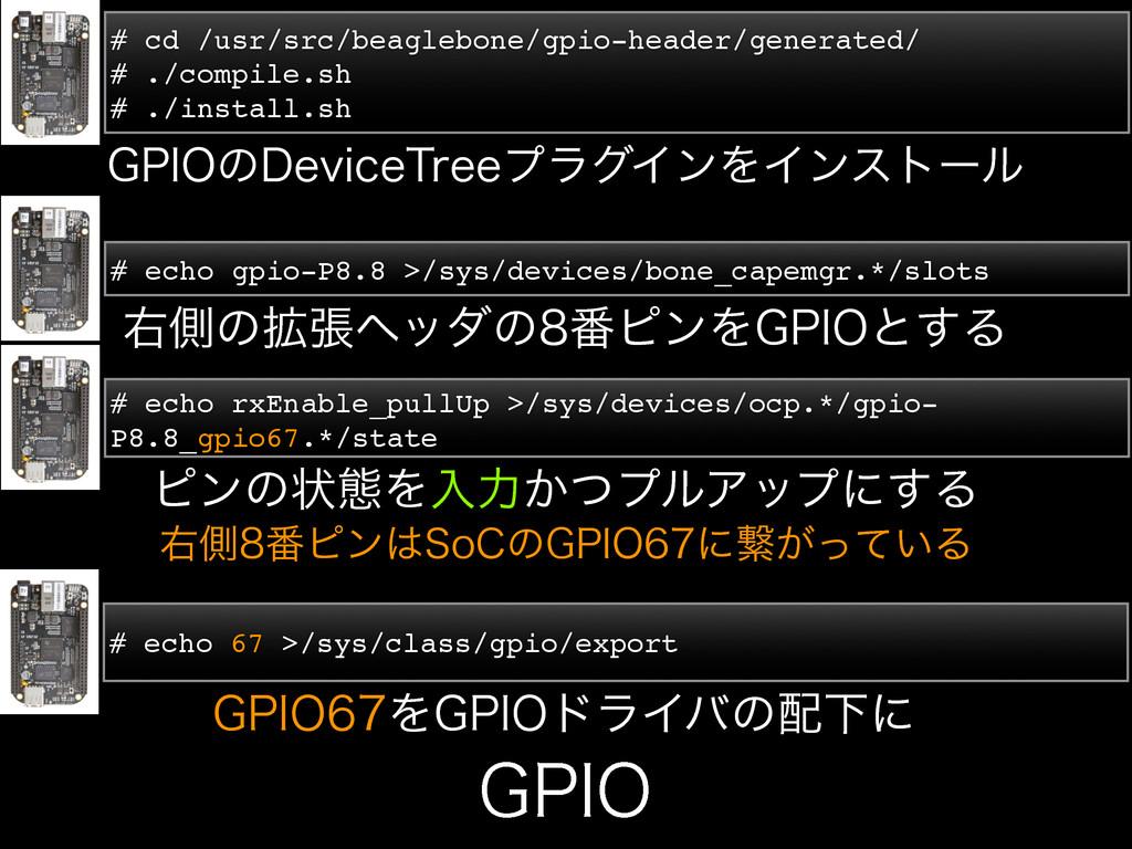 # cd /usr/src/beaglebone/gpio-header/generated/...