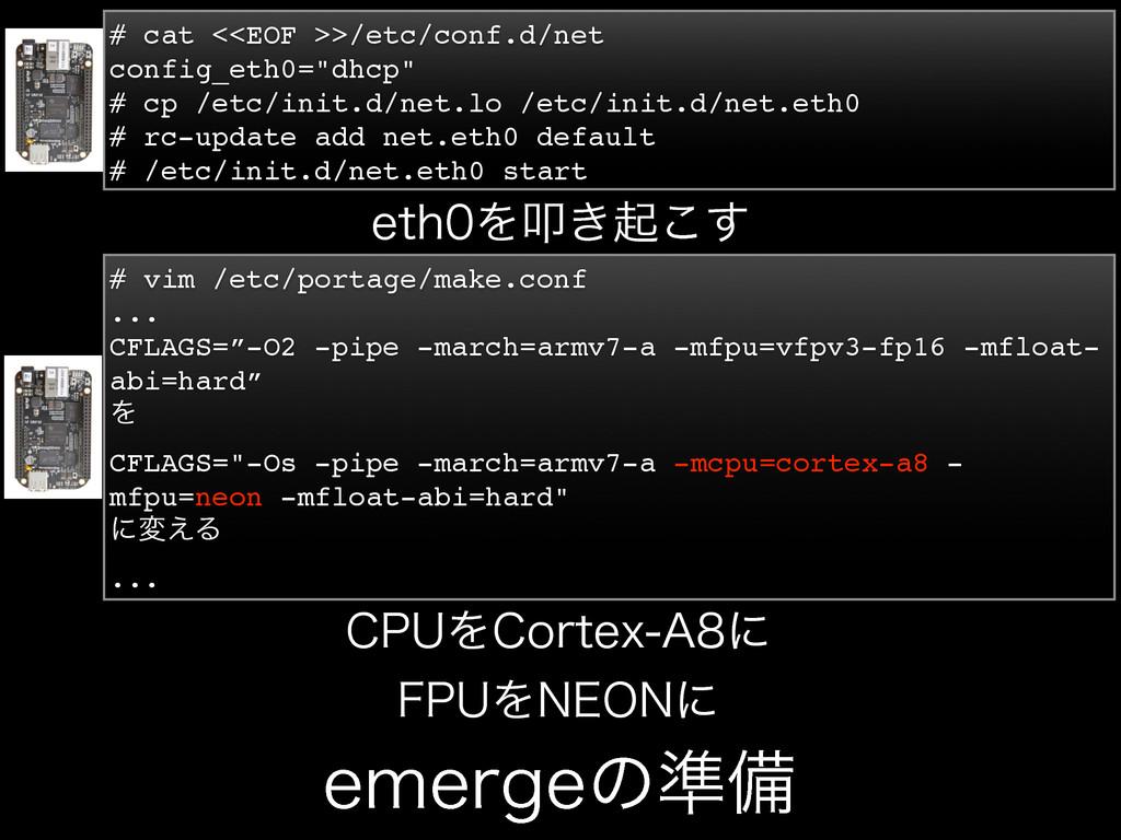 FNFSHFͷ४උ # cat <<EOF >>/etc/conf.d/net config_...