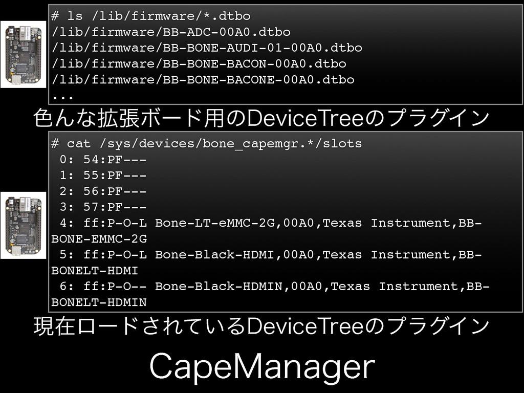 $BQF.BOBHFS # ls /lib/firmware/*.dtbo /lib/firm...