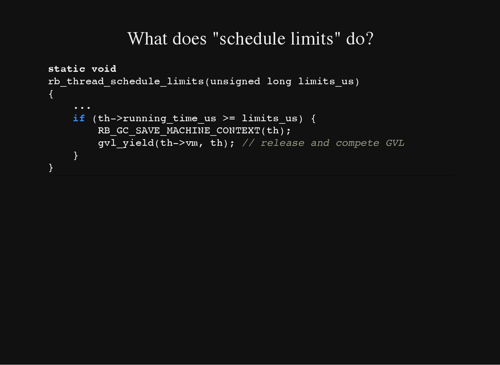 "What does ""schedule limits"" do? s t a t i c v o..."