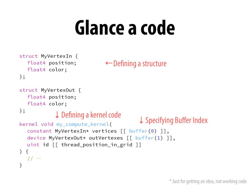 Glance a code TUSVDU.Z7FSUFY*O\  GMPBUQPT...