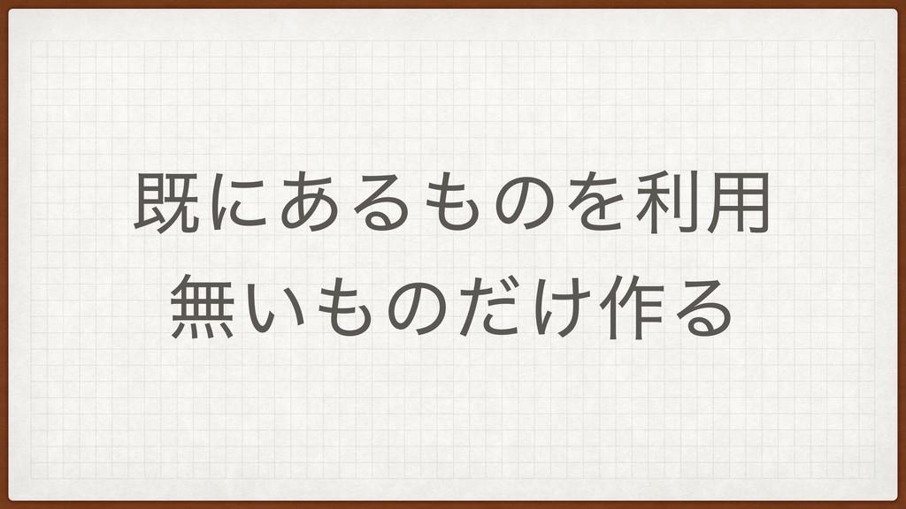 طʹ͋ΔͷΛར༻ ແ͍ͷ͚ͩ࡞Δ