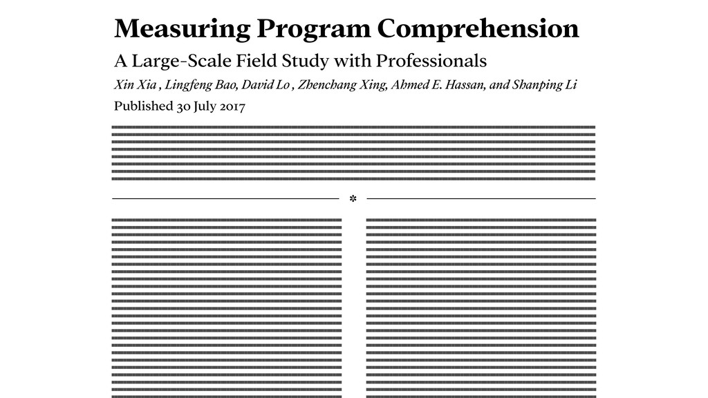 Measuring Program Comprehension A Large-Scale F...
