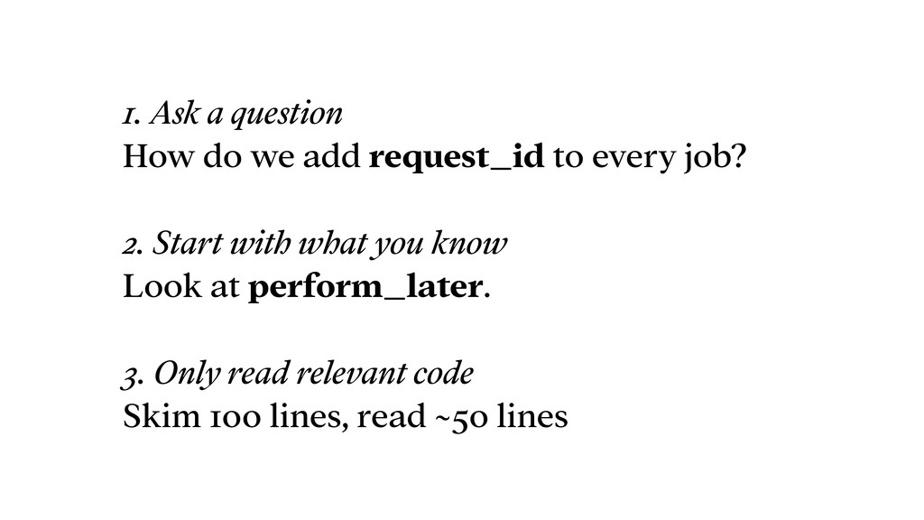 1. Ask a question How do we add request_id to e...
