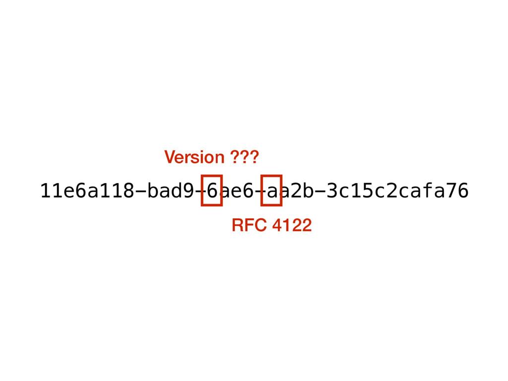 11e6a118-bad9-6ae6-aa2b-3c15c2cafa76 Version ??...