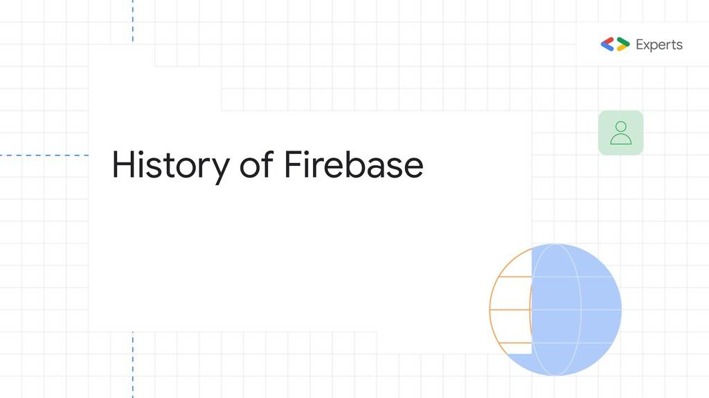 History of Firebase