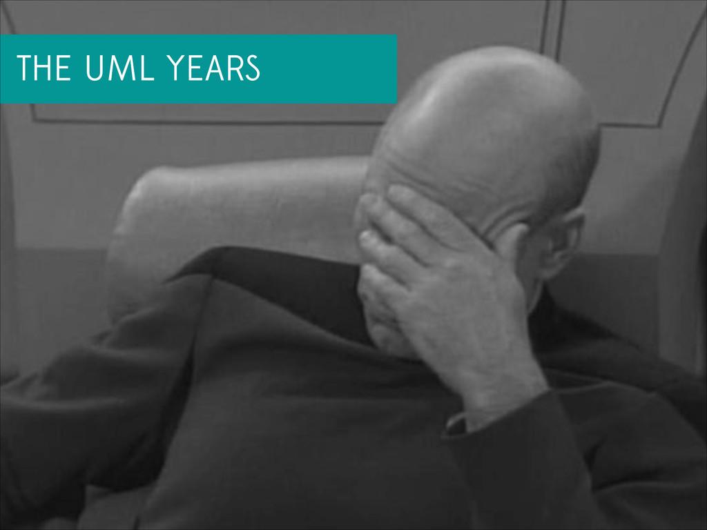 THE UML YEARS