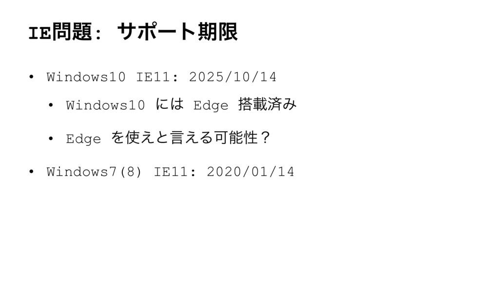 IE: αϙʔτظݶ • Windows10 IE11: 2025/10/14 • Win...