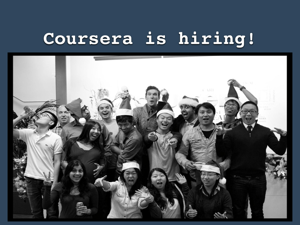 Coursera is hiring!