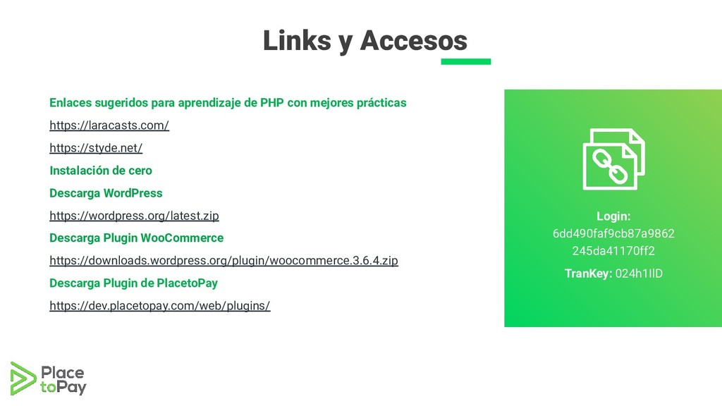 Enlaces sugeridos para aprendizaje de PHP con m...
