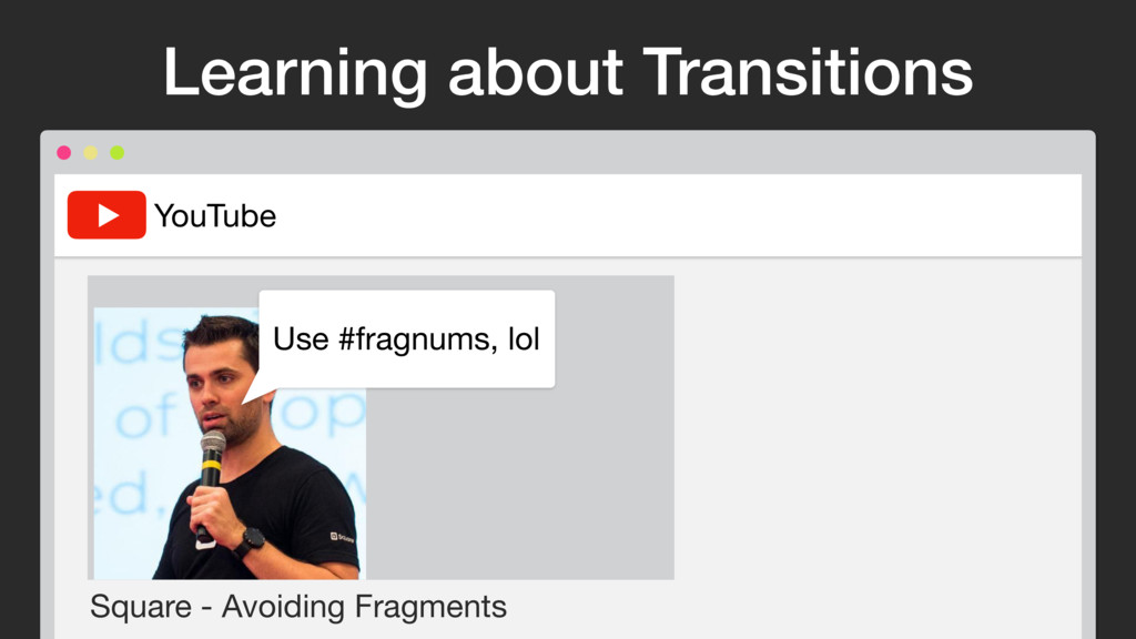 YouTube Square - Avoiding Fragments Use #fragnu...