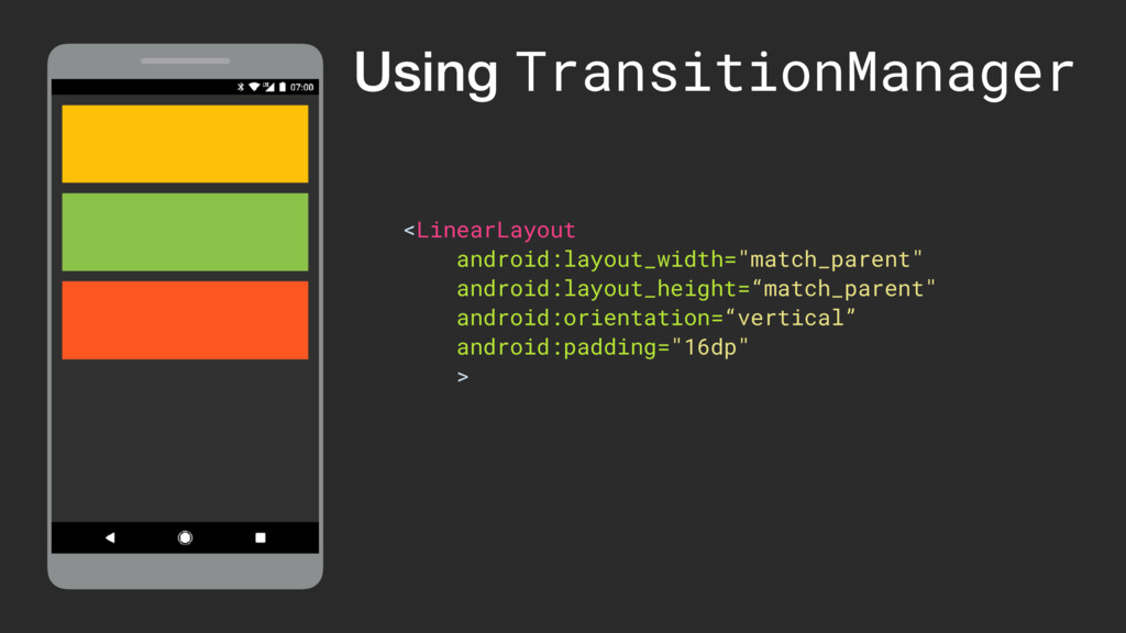 """<LinearLayout android:layout_width=""""match_paren..."""