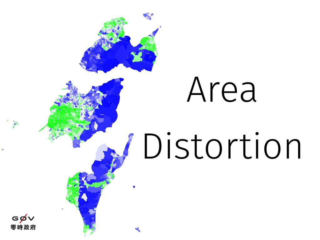 Area Distortion