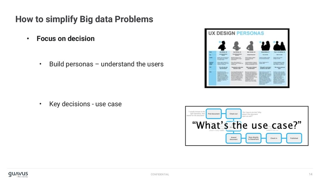 14 CONFIDENTIAL How to simplify Big data Proble...