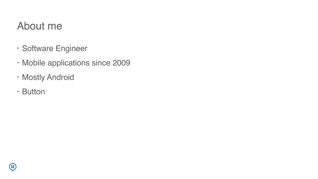 • Software Engineer • Mobile applications since...