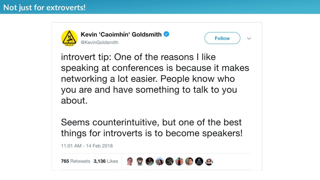 Not just for extroverts!