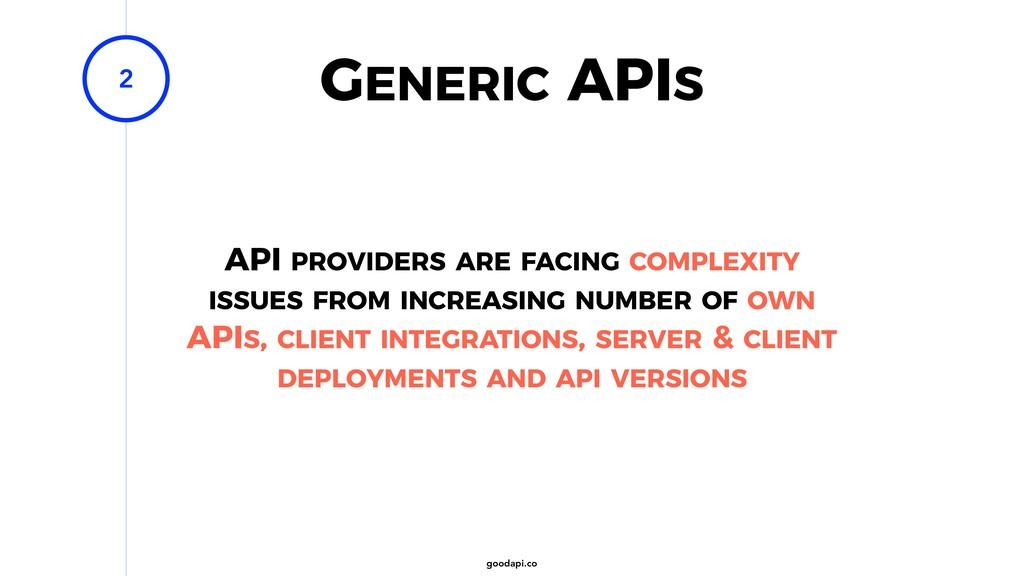 goodapi.co GENERIC APIS 2 API PROVIDERS ARE FAC...